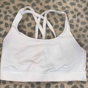 Lululemon essential white bra